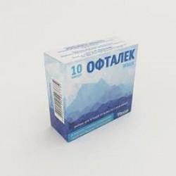 Офталек р-р д/ин. 1% амп. 1 мл блистер №10