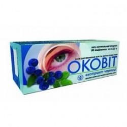 Оковит экстракт черники 250 мг №80