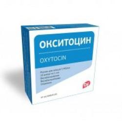 Окситоцин р-р д/ин. 5 МЕ амп. 1 мл №5