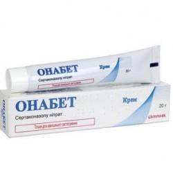 Онабет крем 20 мг/г туба 20 г №1