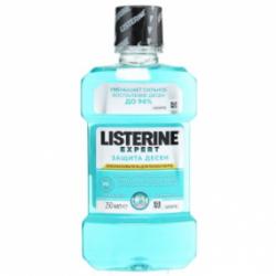 Ополаскиватель для полости рта Листерин защита зубов и десен 250 мл