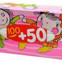 Платочки универсальные Белла №1 а`100+50 двухслойные №150