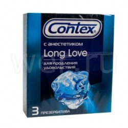 Презервативы Контекс со смазкой с анестетиком №3