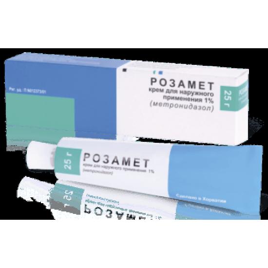 Розамет крем для внешнего применения 1% 25 г
