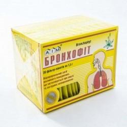 Бронхофит сбор фильтр-пакет 1,5 г №20