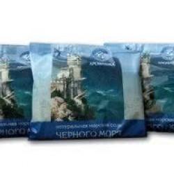 Соль морская для ванн Желана 500 г, сосна