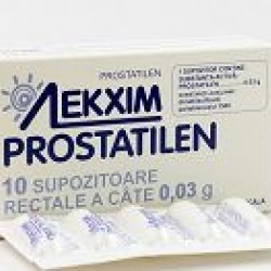 Простатилен супп. рект. 30 мг №10