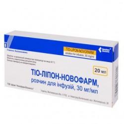 Тио-липон р-р д/инф. 3% фл. 20 мл №5