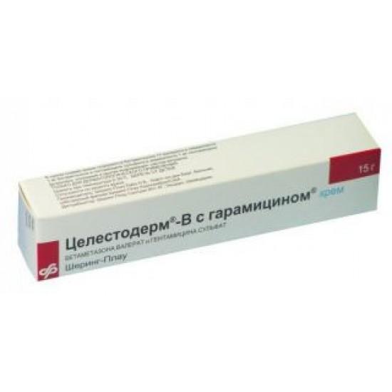 Целестодерм с гарамицином крем туба 30 г №1