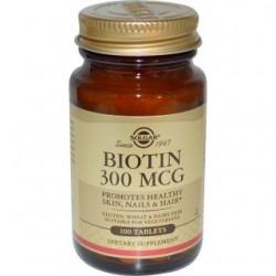 Биотин табл. 0,3 мг №100