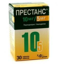 Би-престариум 10/5 табл. 10 мг + 5 мг контейн. №30