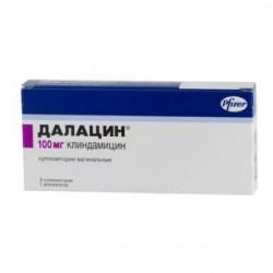 Далацин супп. вагин. 100 мг №3