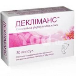 Деклиманс капсулы 400 мг №30