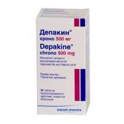 Депакин хроно табл. п/о 500 мг №30