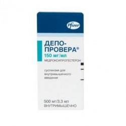 Депо-провера сусп. д/ин. 500 мг фл. 3,3 мл №1
