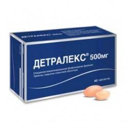 Детралекс табл. п/о 500 мг №60