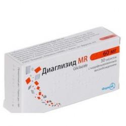 Диаглизид MR табл. 30 мг №60