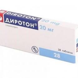 Диротон табл. 20 мг №28