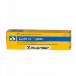 Долгит крем (50 мг/г) 20 г