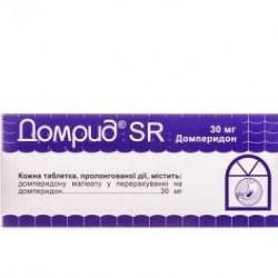 Домрид SR табл. пролонг. 30 мг №30