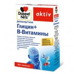 Доппельгерц актив глицин+В-витамины капс. №30