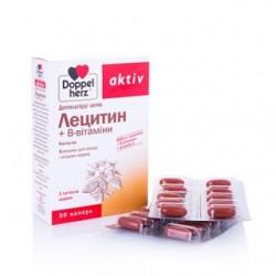 Доппельгерц актив лецитин+B-витамины капс. 1000 мг №30