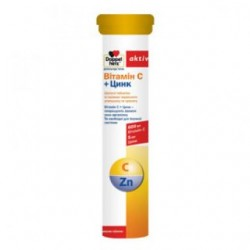 Доппельгерц актив витамин C+цинк табл. шип. 6,3 г №15