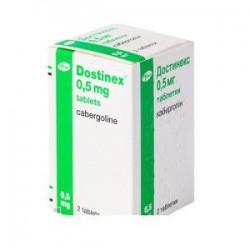 Достинекс табл. 0,5 мг №2