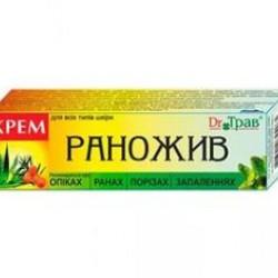 DR.ТРАВ РАНОЖИВ КРЕМ 30Г