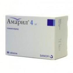 Амарил табл. 4 мг №30