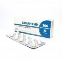 Габантин капс. 300 мг №30