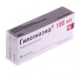 Гипотиазид табл. 100 мг №20