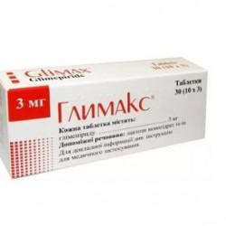 Глимакс табл. 3 мг блистер №30