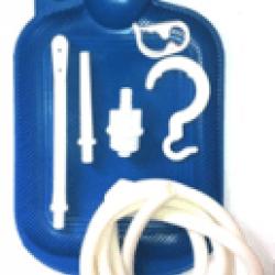 Грелка резиновая Гранум Б-3 3 л, с наконечником