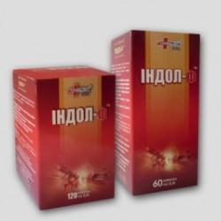 Индол-ф капсулы 0.4 г №120