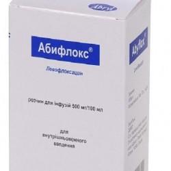 Абифлокс раствор для инфузий 500 мг/100 мл 100 мл флакон n1