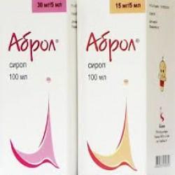 Аброл сироп 15 мг/5мл фл. 100 мл №1