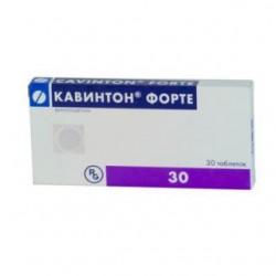 Кавинтон форте табл. 10 мг №30