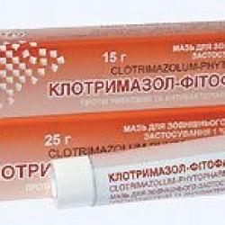 Клотримазол-фитофарм мазь 1% 15 г