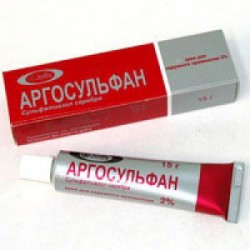 Аргосульфан крем 2% туба 15 г №1