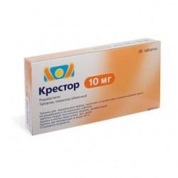 Крестор табл. п/о 10 мг №28