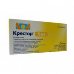 Крестор табл. п/о 5 мг №28