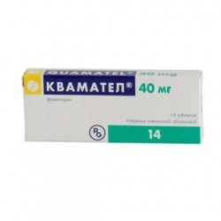Квамател табл. п/о 40 мг №14