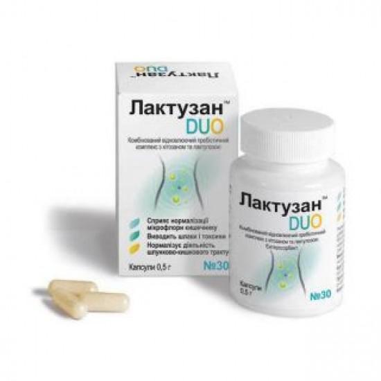 Лактузан дуо капсулы 500 мг №30