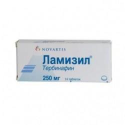 Ламизил табл. 250 мг №14