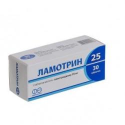 Ламотрин табл. 25 мг №30