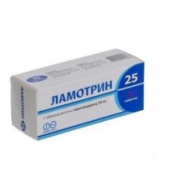 Ламотрин-25 табл. 25мг N60 (10х6) блистер*