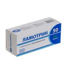 ЛАМОТРИН ТАБ.50МГ #60(10Х6)
