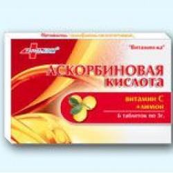 АСКОРБИН.К-ТА+ЛИМОН 3Г #6