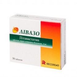 Ливазо табл. п/о 4 мг №30